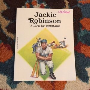 Book - Jackie Robinson A Life of Courage